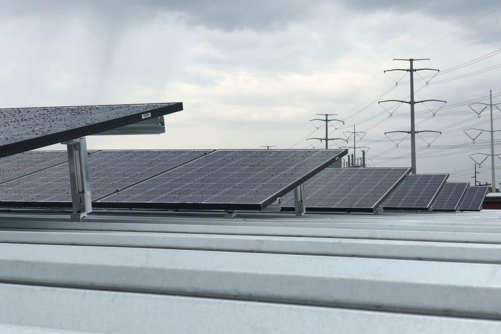 SOJO Self Storage use solar panels in South Jordan, Utah