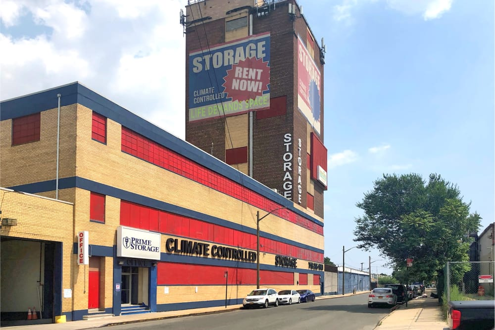 Exterior of Prime Storage in Jamaica, New York