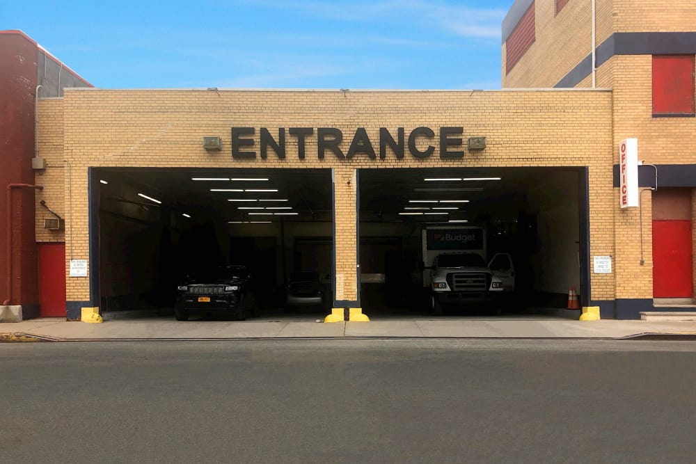 Entrance at Prime Storage in Jamaica, New York