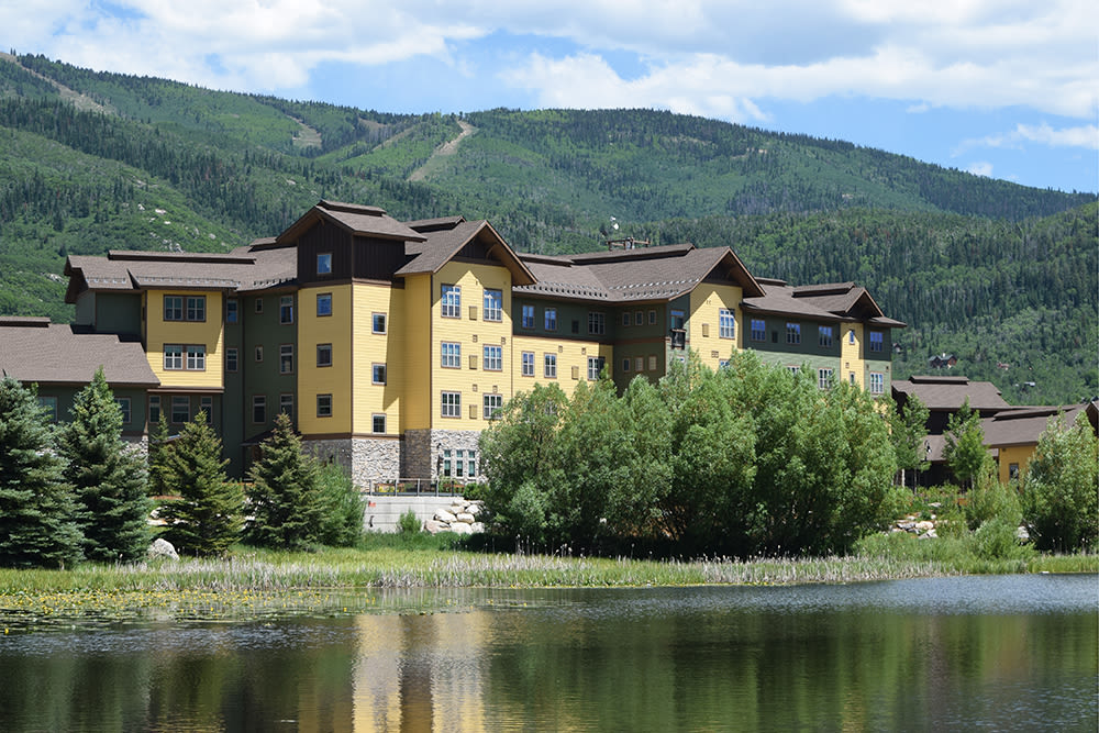 Casey's Pond Is Set In A Beautiful Location In Steamboat Springs Colorado