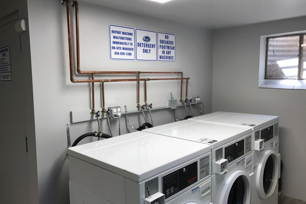 Presidential Court offers a laundry facility in Runnemede, New Jersey