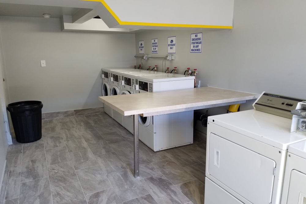 Our modern apartments in Runnemede, New Jersey showcase a laundry facility