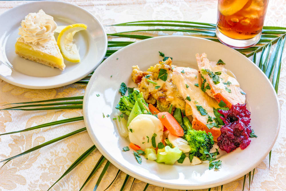 Ask about our chef-prepared meals at The Wentworth At East Millcreek
