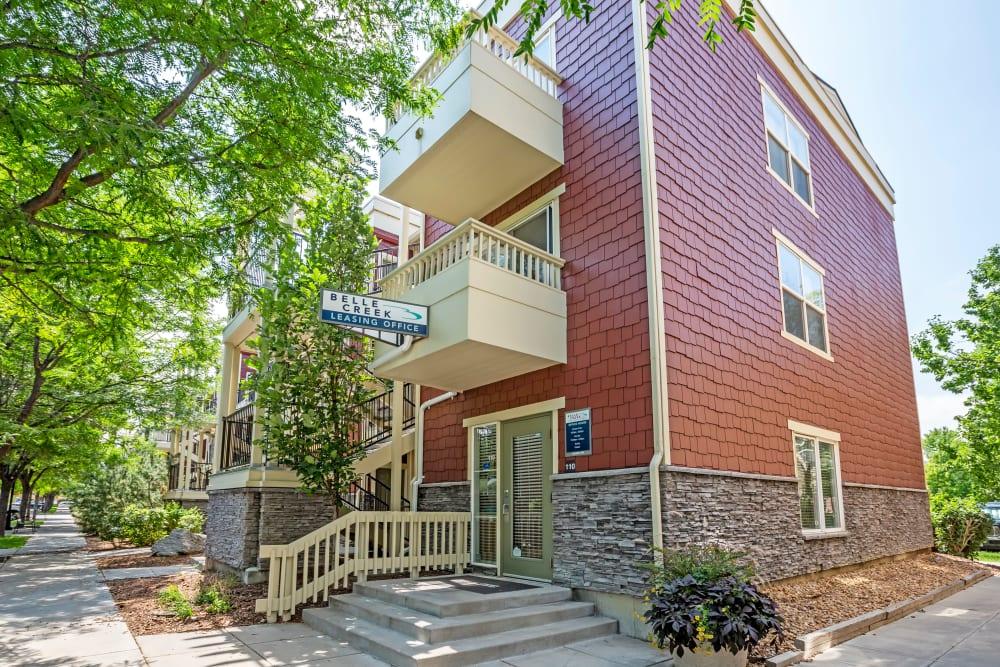 Exterior of Apartments in Henderson, Colorado