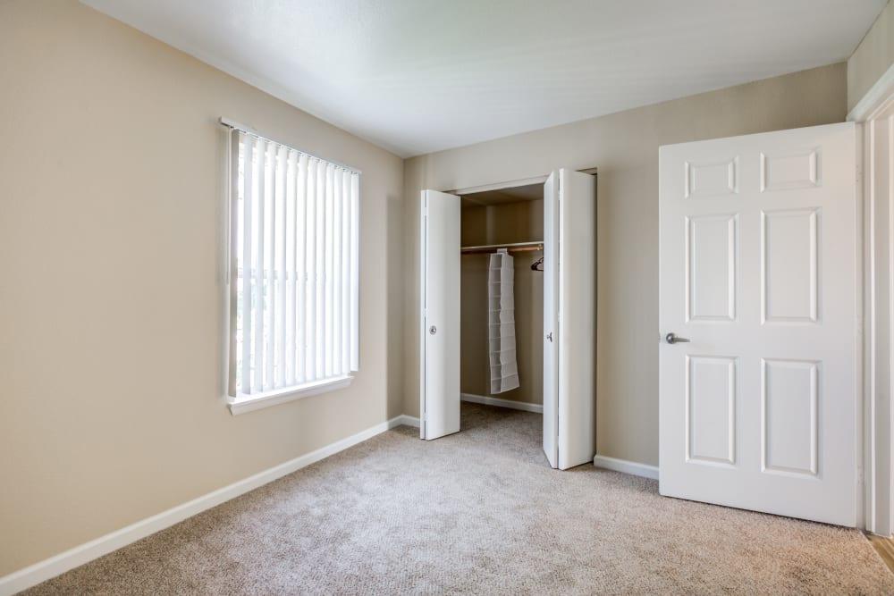 Bedroom at Belle Creek Apartments in Henderson, Colorado