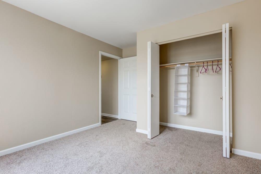 Bedroom at Belle Creek Apartments in Henderson, CO