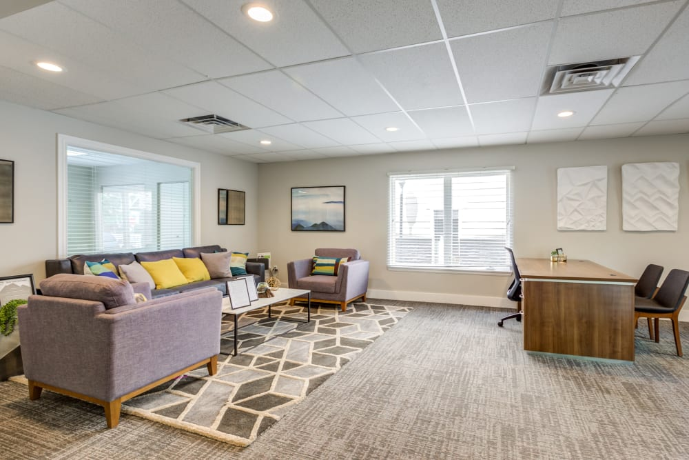 Leasing Office at Belle Creek Apartments in Henderson, CO