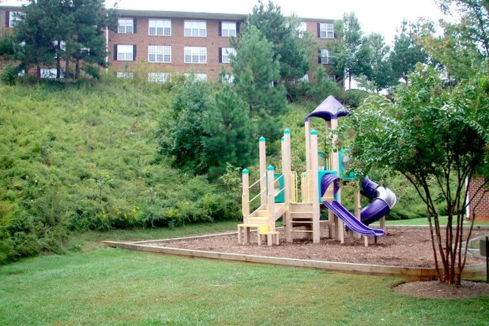Playground at Heritage Apartments in Hillsborough, North Carolina