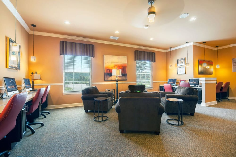 Our apartments in Ooltewah, Tennessee showcase a modern computer lab