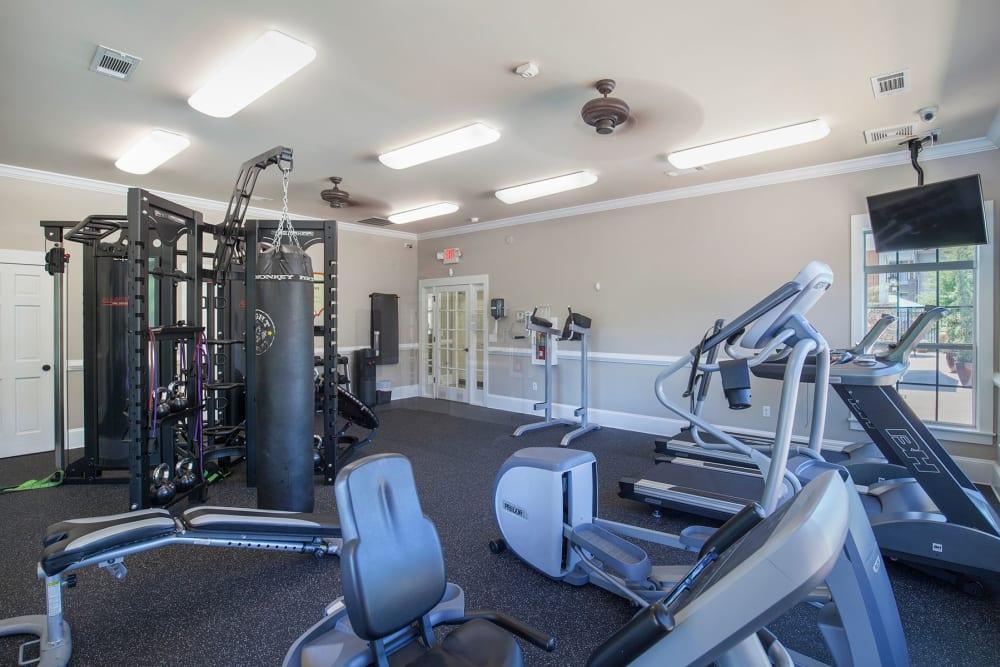 Fitness Center at Panther Riverside Parc Apartments | Apartments in Atlanta, GA