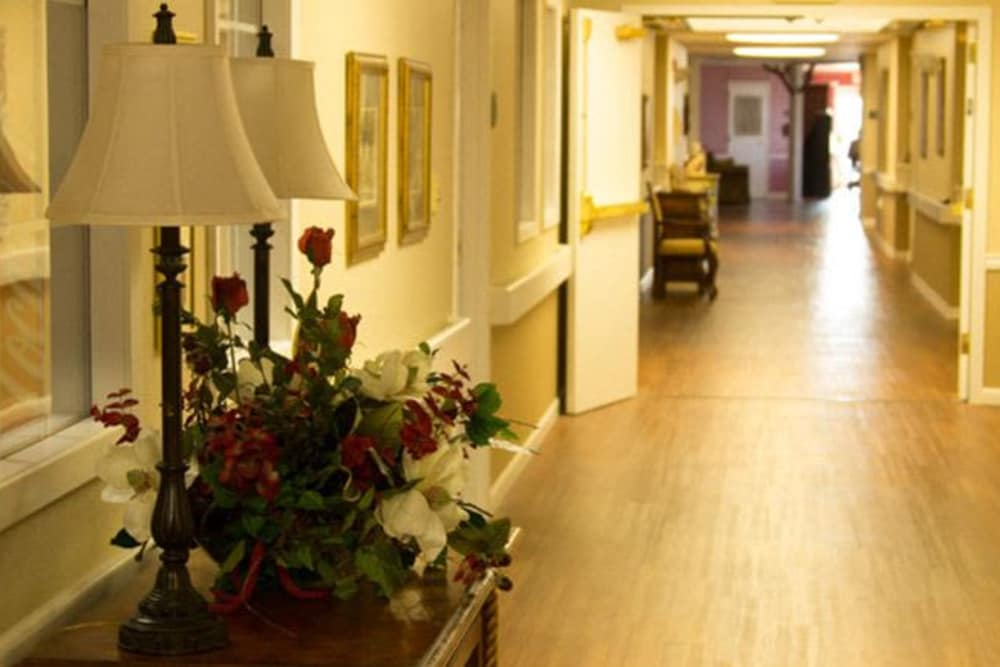 Brookstone Assisted Living Community hallway