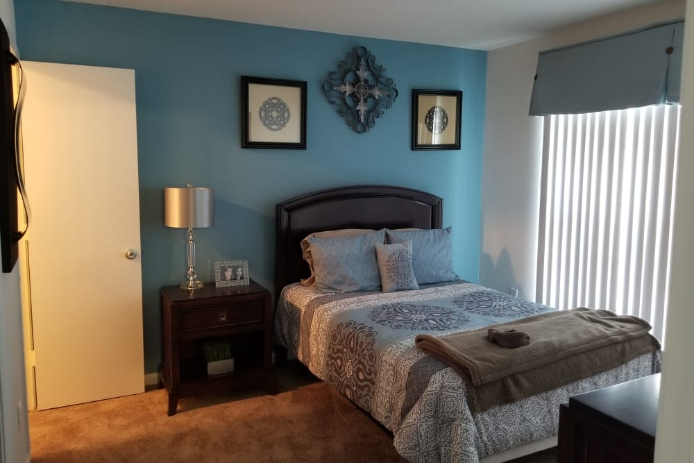 Bedroom at Claypond Commons in Myrtle Beach, South Carolina