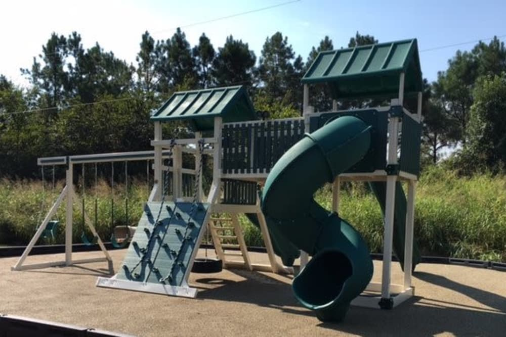 Playground area at Fieldstone Apartments in Mebane, North Carolina