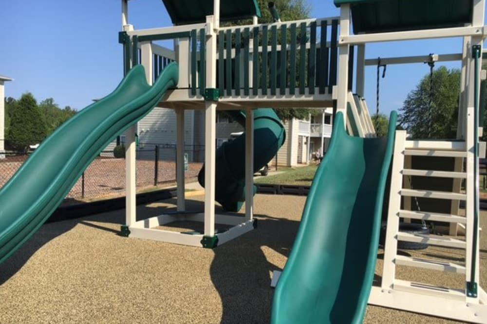 Playground at Fieldstone Apartments in Mebane, North Carolina