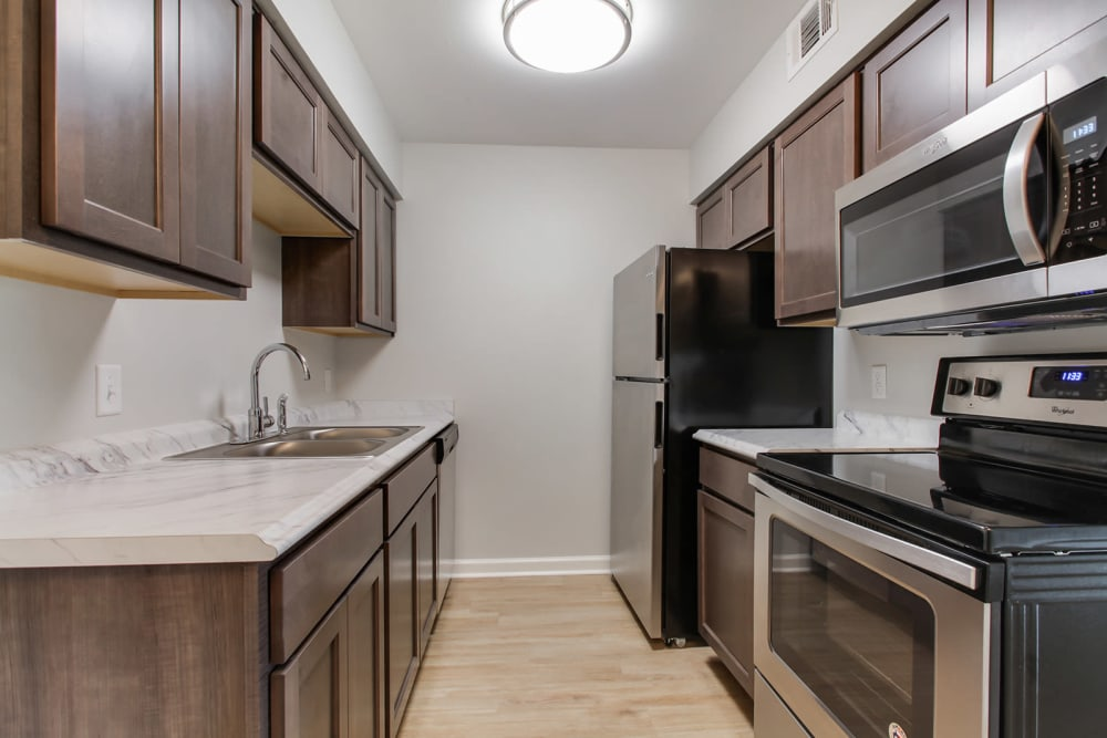 Spacious kitchen in our New Orleans, LA apartments