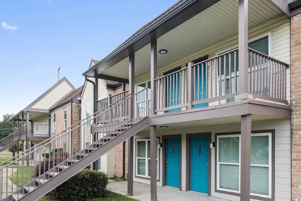 Building Exterior at The Mayfair Apartment Homes in New Orleans, LA