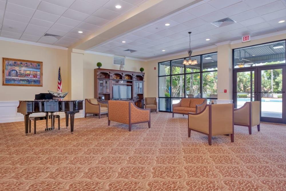 Entryway at Grand Villa of Boynton Beach in Florida