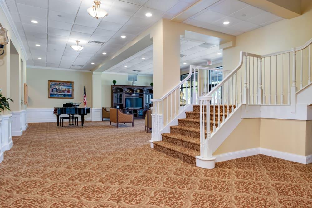 Staircase at Grand Villa of Boynton Beach in Florida