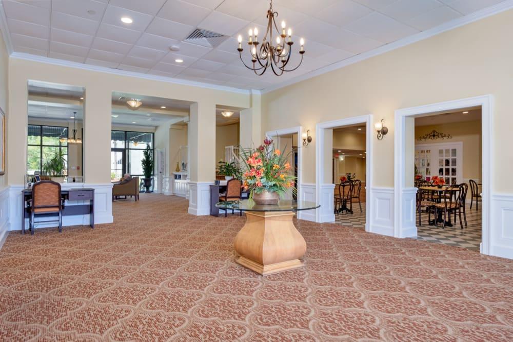 Entrance at Grand Villa of Boynton Beach in Florida