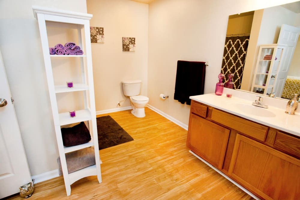 The Village of Meadowview offers a spacious bathroom in Boone, North Carolina