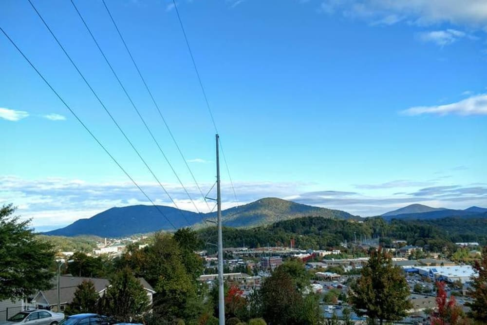 Wonderful view at The Village of Meadowview in Boone, North Carolina