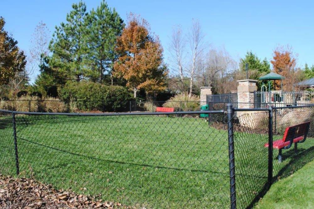 Dog Park at Windsor Upon Stonecrest in Burlington, North Carolina