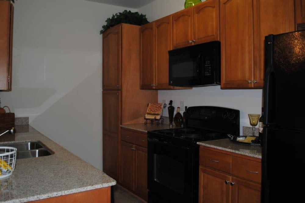Kitchen at Windsor Upon Stonecrest in Burlington, North Carolina