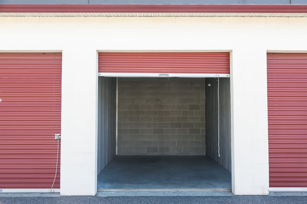 Exterior units at U-Lock Mini Storage in Chilliwack, BC