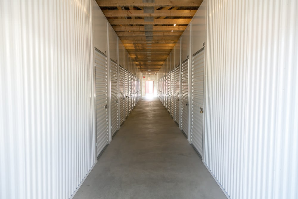 Interior units at U-Lock Mini Storage in Chilliwack, BC