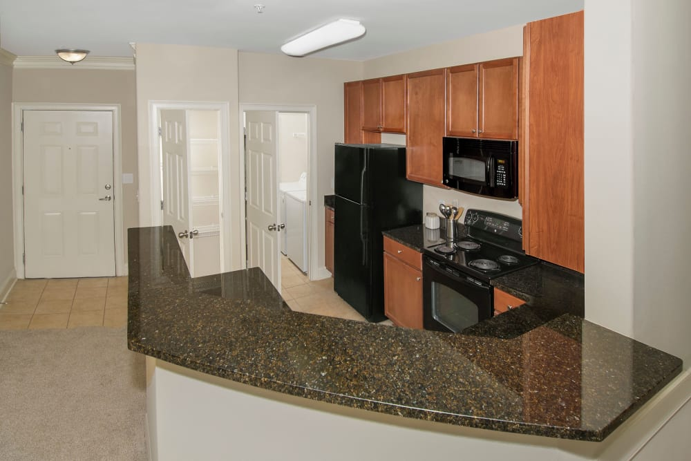 Kitchen at Apartments at the Venue in Valley, Alabama