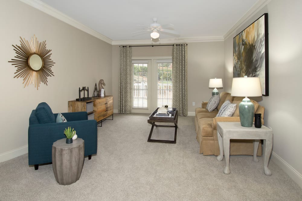 Apartments at the Venue offers a living room in Valley, Alabama