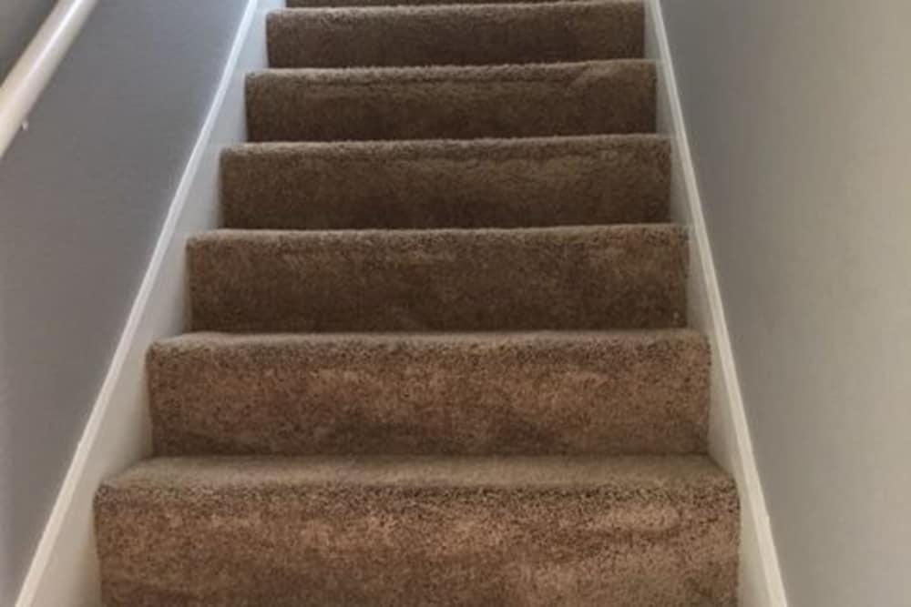 Stairway at Harbin Pointe Apartments in Bentonville, Arkansas