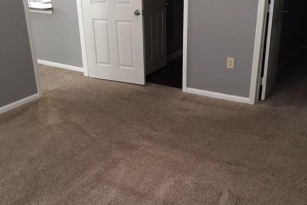 Spacious apartments in Bentonville, Arkansas showcase a bedroom