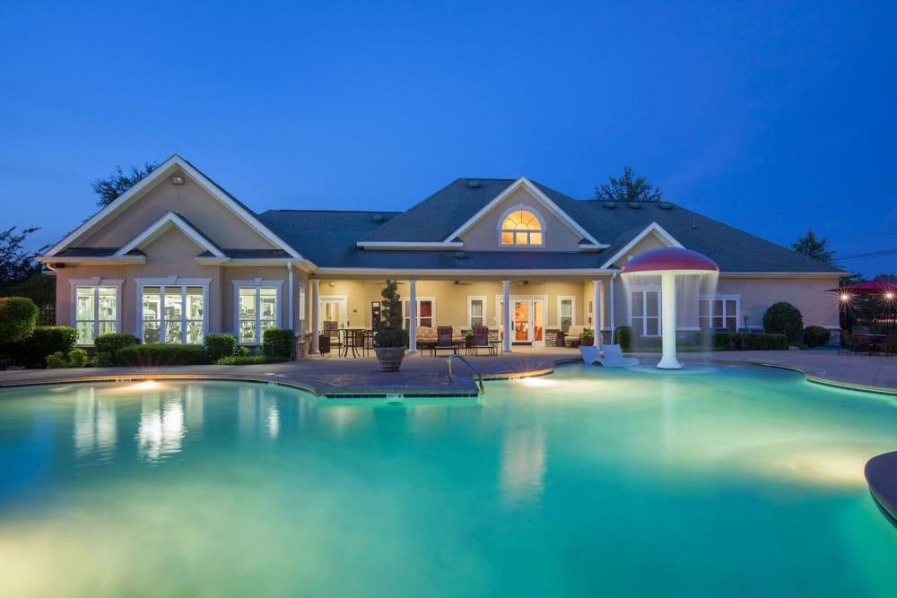Enjoy the pool at Villas at Houston Levee West Apartments in Cordova, TN