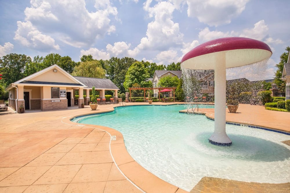 Villas at Houston Levee West Apartments in Cordova, TN offers a beautiful Swimming Pool