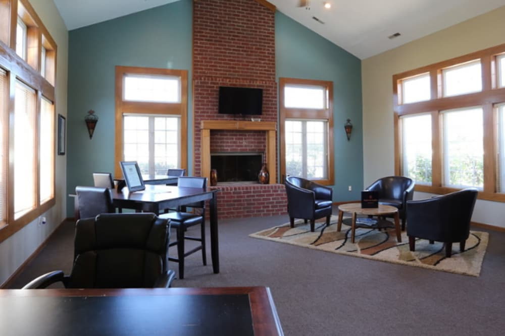 Spacious interiors at apartments in Grove City, Ohio