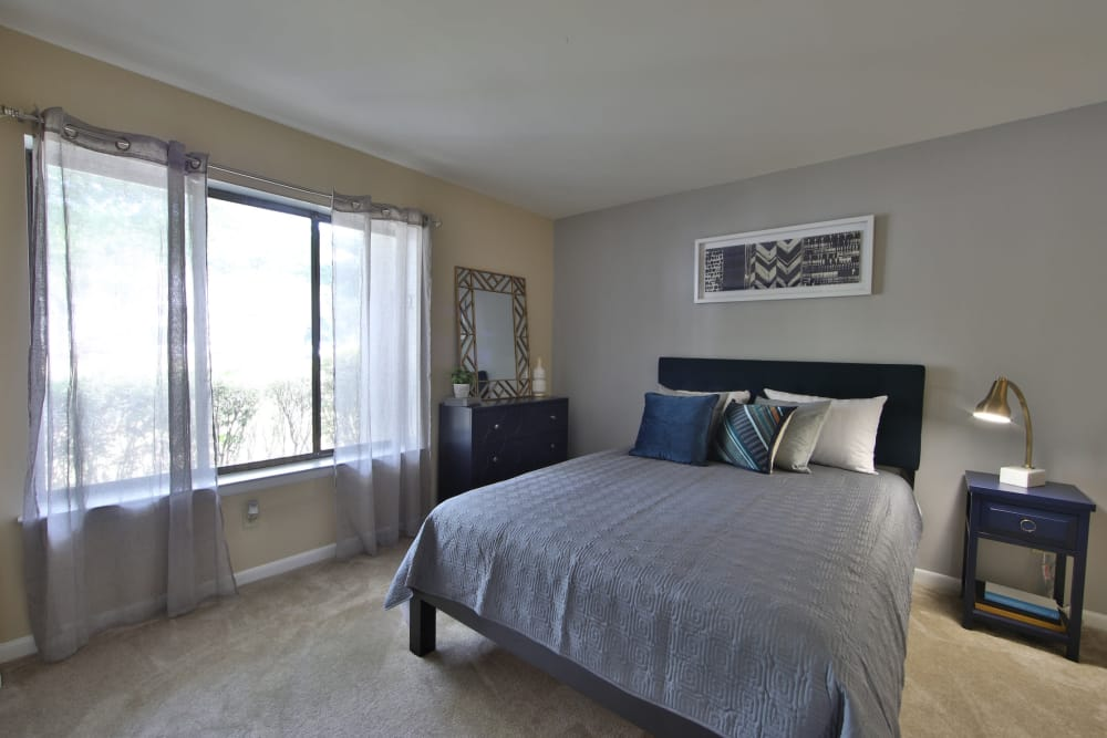 Bedroom at Northampton Apartment Homes in Largo, Maryland