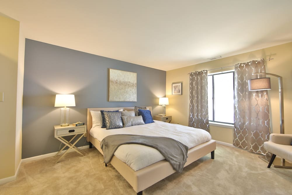 Spacious Bedroom at Northampton Apartment Homes in Largo, Maryland