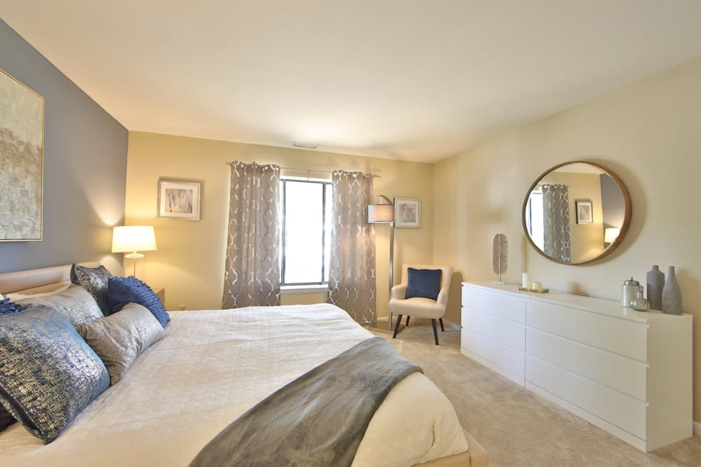 Beautiful Bedroom at Northampton Apartment Homes in Largo, Maryland