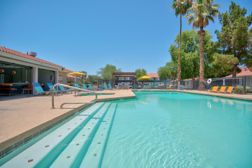 Argenta Apartment Homes offers a refreshing pool in Argenta Apartment Homes in Mesa, Arizona