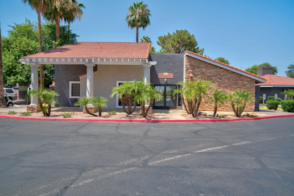 Front view of Argenta Apartment Homes in Mesa, Arizona