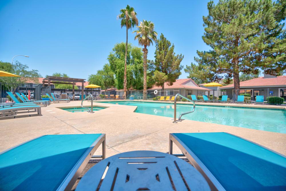 Swimming pool at Argenta Apartment Homes in Mesa, Arizona