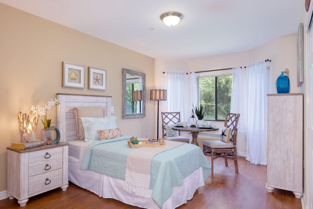 Bedroom model at Grand Villa of Englewood in Florida
