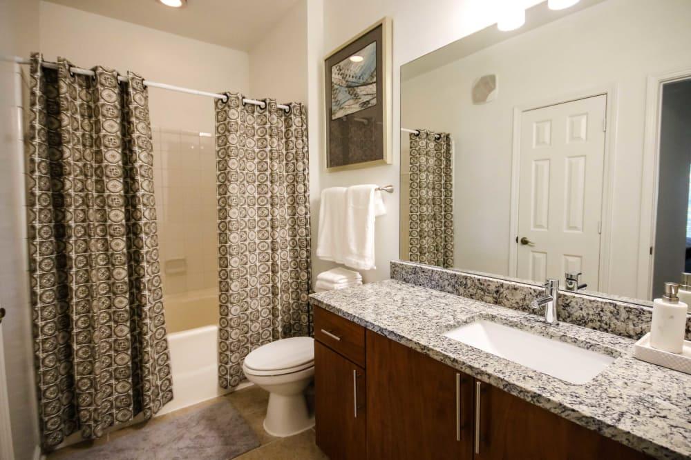 Bathroom at The Maddox in Duluth, Georgia