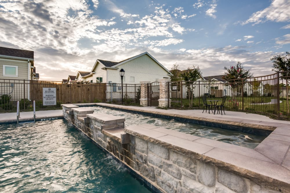Swimming pool at Avilla Northside in McKinney, Texas