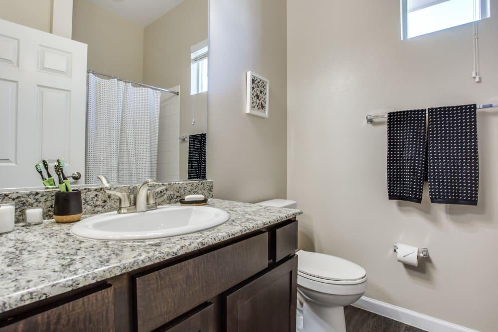 Bathroom at Avilla Premier in Plano, Texas