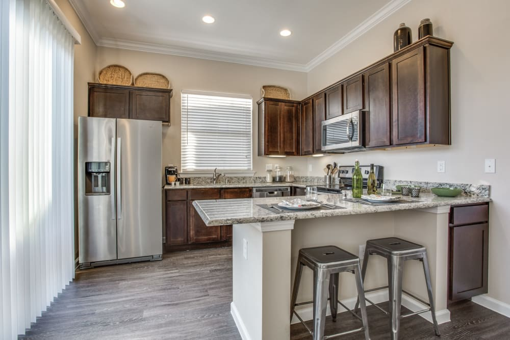 Kitchen at Avilla Premier in Plano, Texas