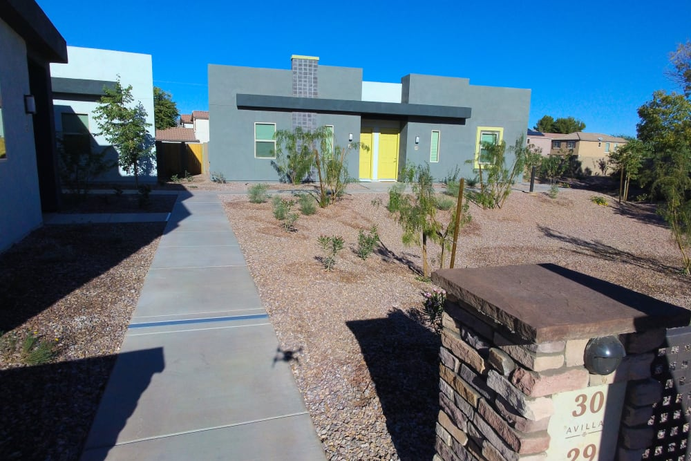 Our apartments at Avilla Town Square in Gilbert, Arizona