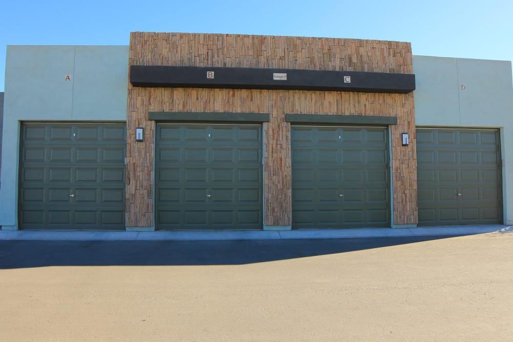 Garages at Avilla Town Square in Gilbert, Arizona