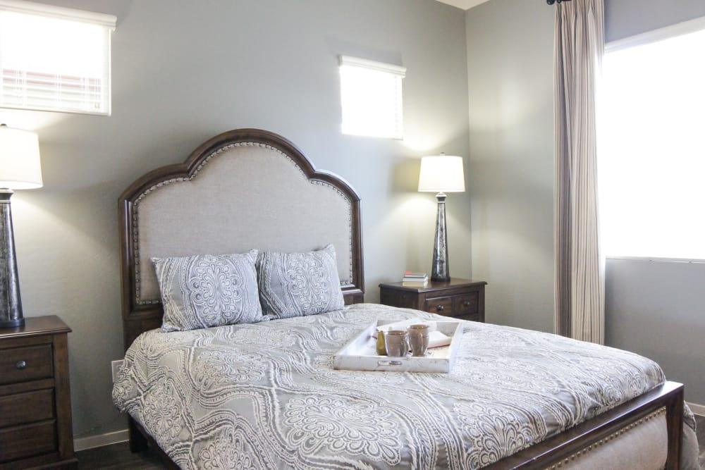 Bedroom at Avilla Town Square in Gilbert, Arizona
